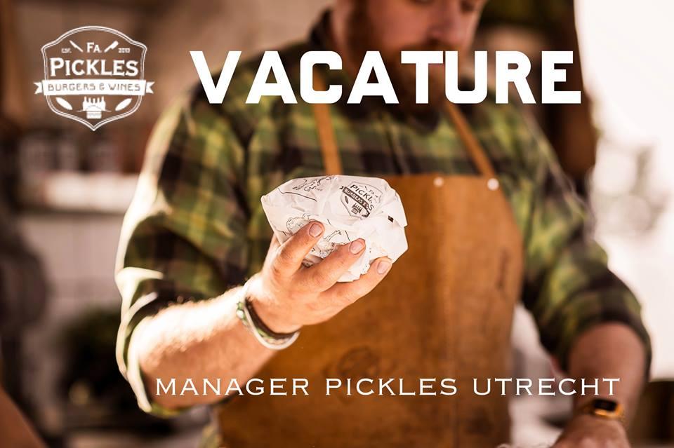 Manager Firma Pickles Utrecht